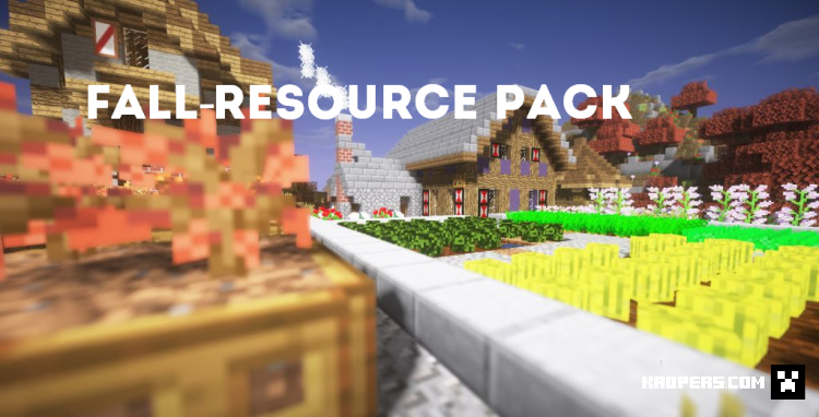 Fall-Resource Pack
